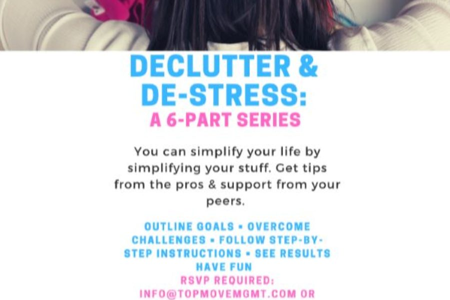 Declutter & De-Stress: A 6-Part Workshop